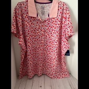 Limited Cotton top pink 3X